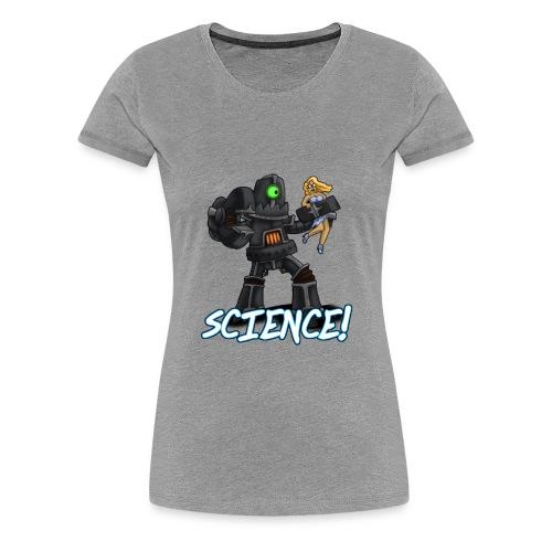 Science Robot - Women's Premium T-Shirt