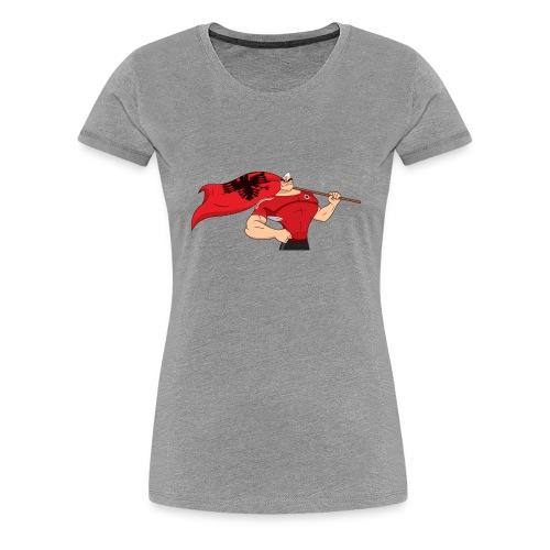 Sabit Bajraktari 1024x475 - Frauen Premium T-Shirt