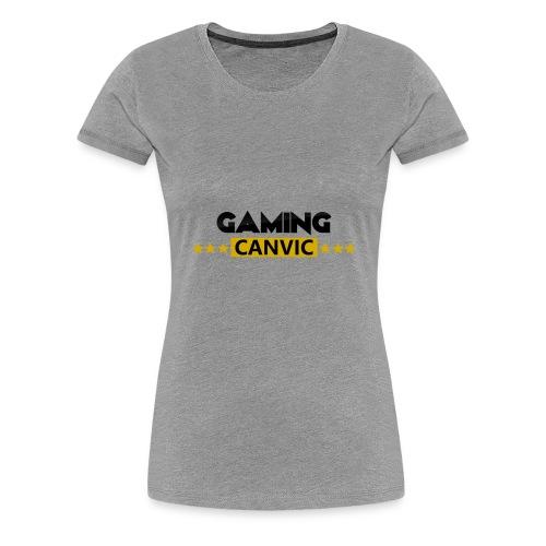 Gaming Canvic Stars - Frauen Premium T-Shirt