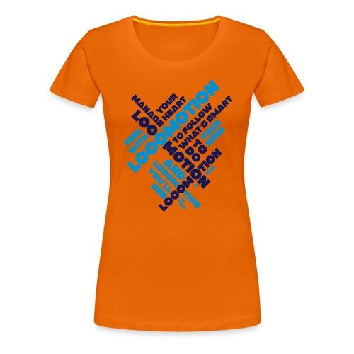 Locomotion - Dame premium T-shirt