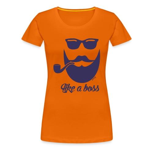 Comme un boss (H) - T-shirt Premium Femme