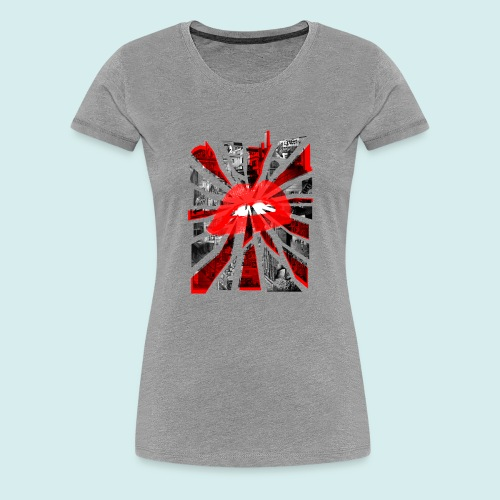 Kiss Britain - Women's Premium T-Shirt
