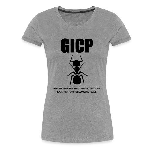 GICP T-SHIRT - Women's Premium T-Shirt
