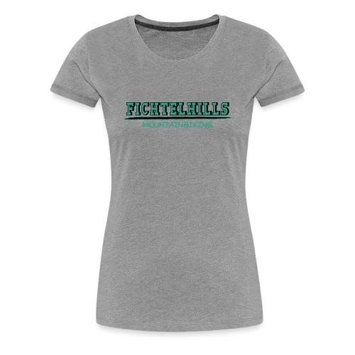 Fichtelhills green - Frauen Premium T-Shirt