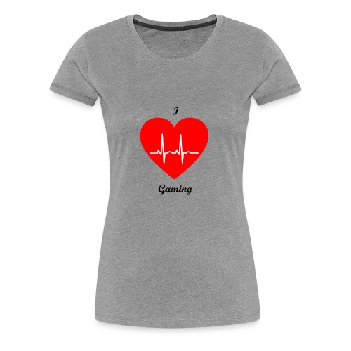 Ilovegaming - Frauen Premium T-Shirt