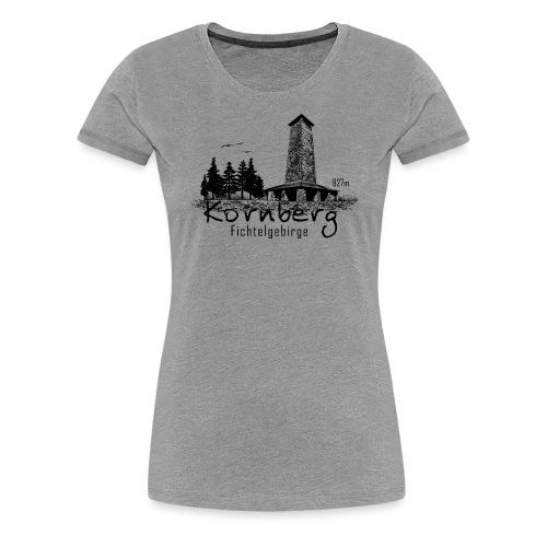 Kronberg Fichtelgebirge - Frauen Premium T-Shirt