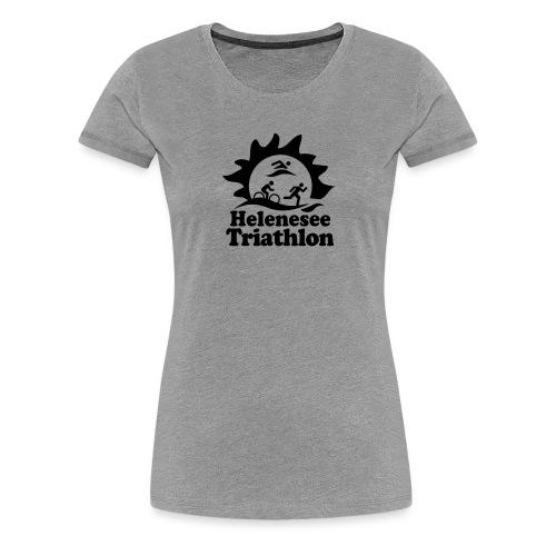 Helenesee-Triathlon - Frauen Premium T-Shirt