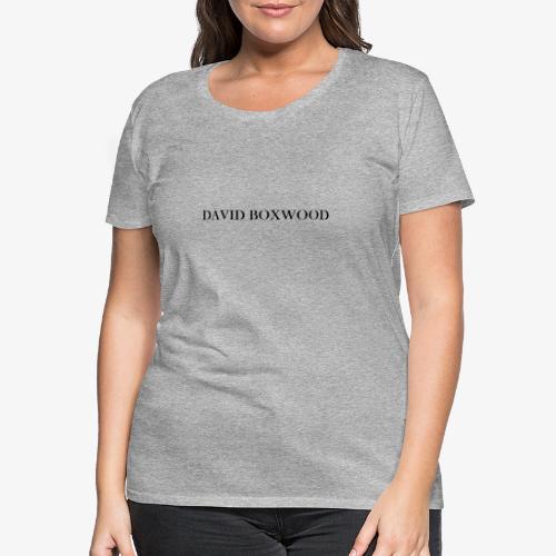 DAVID BOXWOOD - Maglietta Premium da donna
