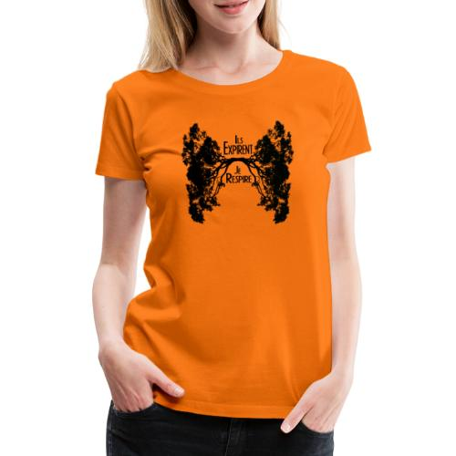 Oxygène - T-shirt Premium Femme