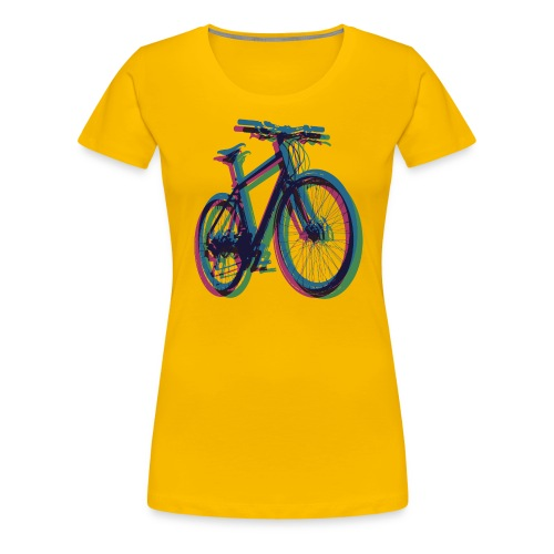 Bike Fahrrad bicycle Outdoor Fun Mountainbike - Women's Premium T-Shirt