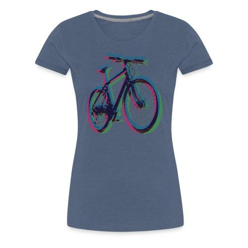 Bike Fahrrad bicycle Outdoor Fun Mountainbike - Women's Premium T-Shirt