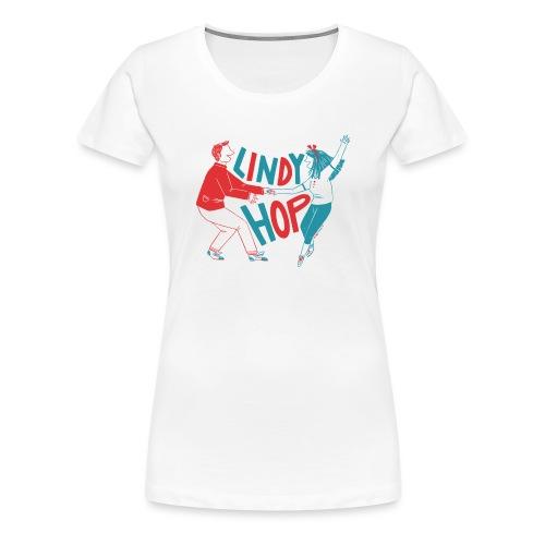Lindy hop - Women's Premium T-Shirt