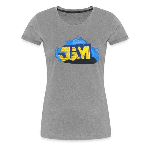 Steine Hintergrund - Frauen Premium T-Shirt
