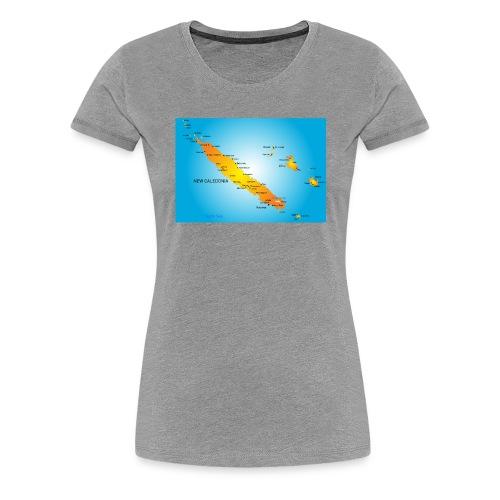 nouvelle caledonie - T-shirt Premium Femme