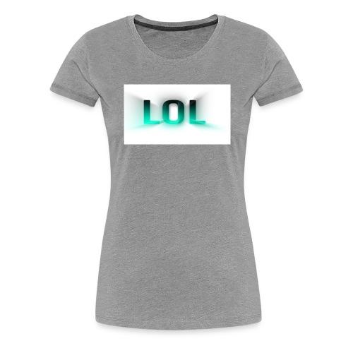 LOL Box Logo Schein Effekt - Frauen Premium T-Shirt