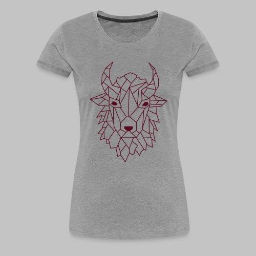 Bison - Women's Premium T-Shirt