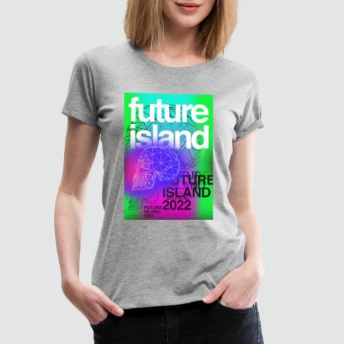 Future Island - Ghostbox II official T-Shirt - Frauen Premium T-Shirt