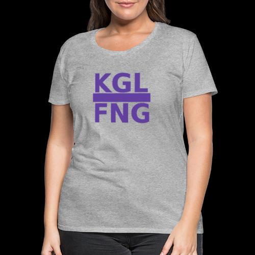 KGLFNG lila - Frauen Premium T-Shirt