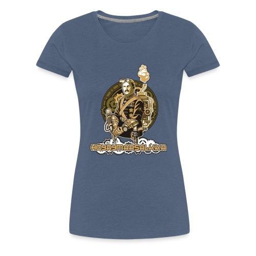 Höyrymarsalkan upea naisten T-paita - Naisten premium t-paita
