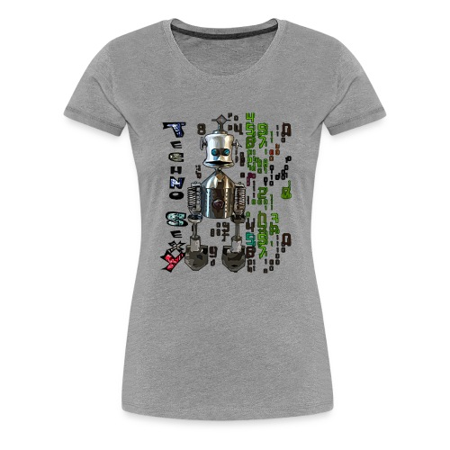 techno sexy - T-shirt Premium Femme