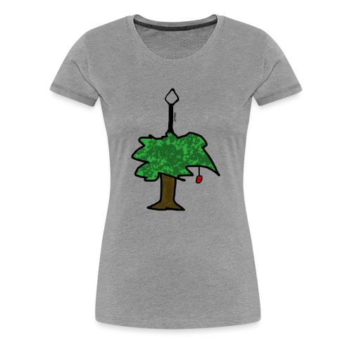 TREE OF FRUIT - Frauen Premium T-Shirt