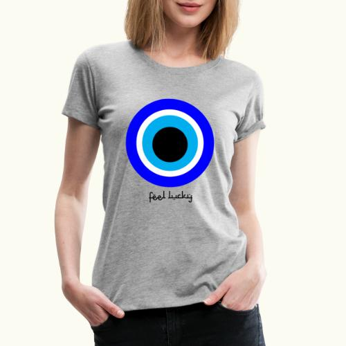luck eye - Vrouwen Premium T-shirt