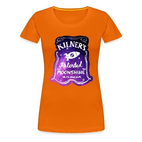 Kilner's Patented Moonshine (Stars) - Women's Premium T-Shirt