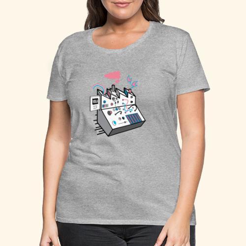 Noise Factory - Naisten premium t-paita