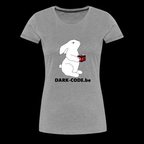 whiterabbit - T-shirt Premium Femme