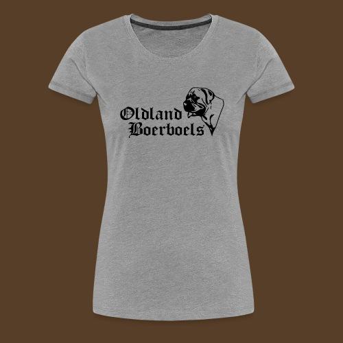 Logo Oldland Boerboels - Frauen Premium T-Shirt