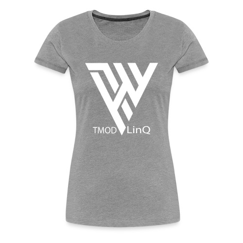 TMOD LinQ - Dame premium T-shirt