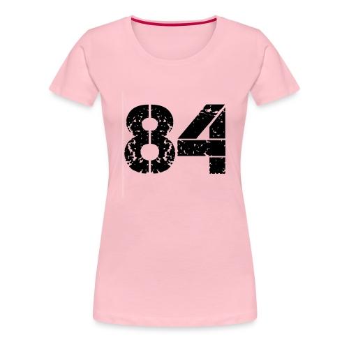 84 vo t gif - Vrouwen Premium T-shirt