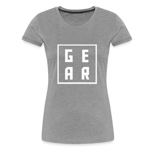 GearWear Sweatshirt   Man Black - Vrouwen Premium T-shirt