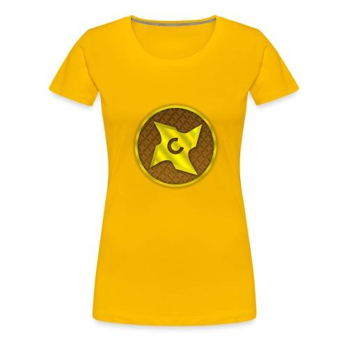 creative cap - Dame premium T-shirt
