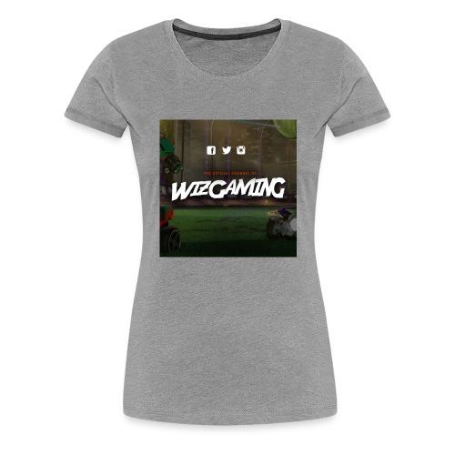 logoWizGaming jpg - T-shirt Premium Femme