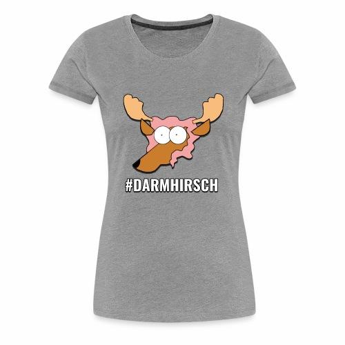 Darmhirsch - Frauen Premium T-Shirt