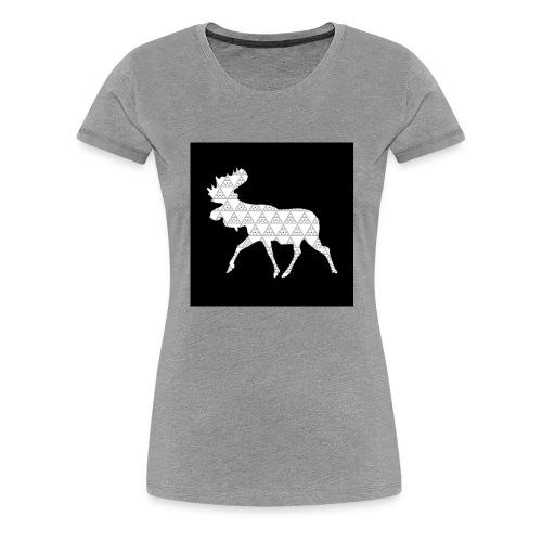 Moose Walk - Women's Premium T-Shirt