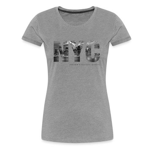 NYC - Vrouwen Premium T-shirt