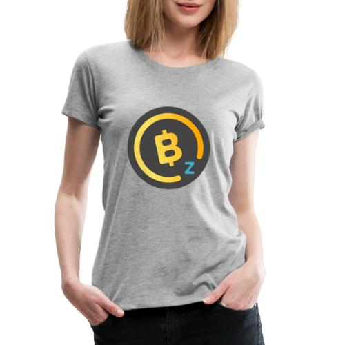 Dark BitcoinZ Logo - Women's Premium T-Shirt