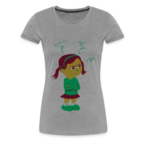 Lass mich - bin angepisst - Frauen Premium T-Shirt