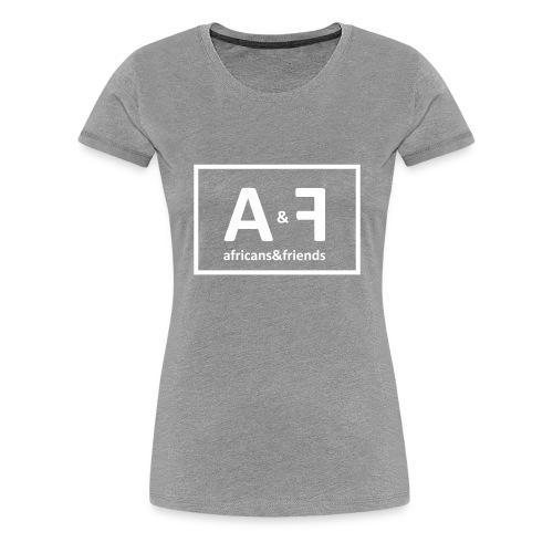 Africans friends - Women's Premium T-Shirt