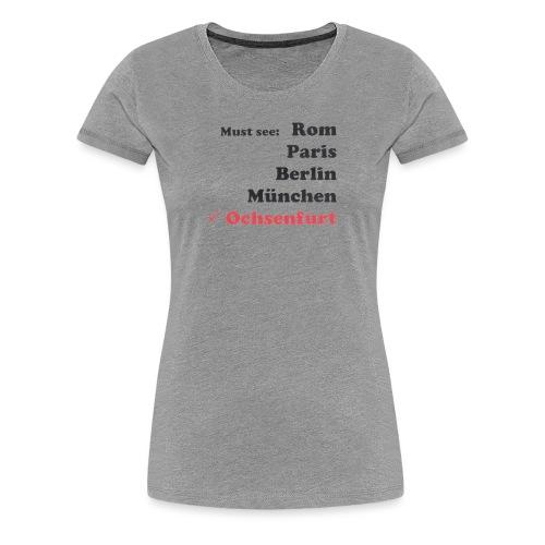 Logo4 Ochsenfurt png - Frauen Premium T-Shirt