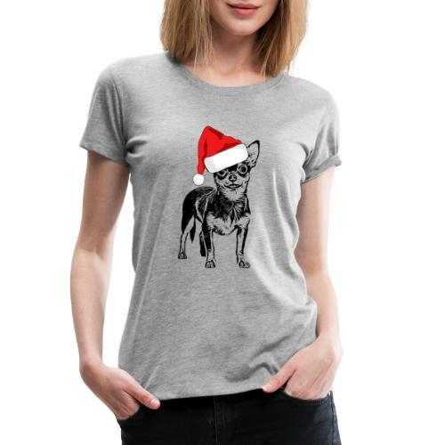 Weihnachten Chihuahua Hunde Geschenk Geschenkidee - Frauen Premium T-Shirt