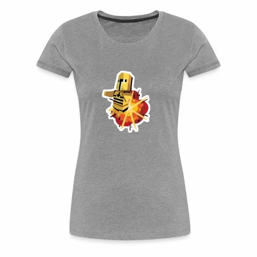 Dyna Knight - Bombs Away - Naisten premium t-paita