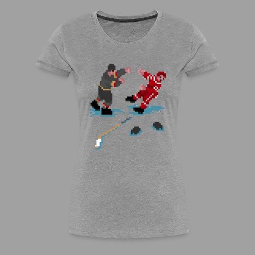 GLOVES OFF! - Women's Premium T-Shirt