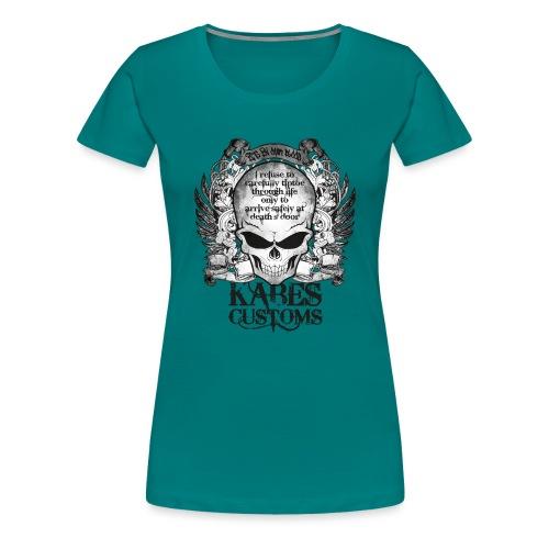Kabes Tiptoe T-Shirt - Women's Premium T-Shirt