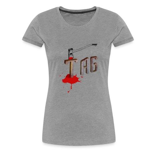 Hache Tag - T-shirt Premium Femme