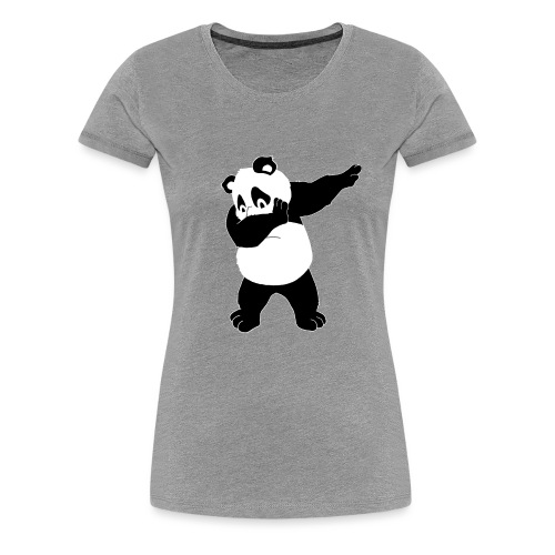 Dabbing Panda Bär - Frauen Premium T-Shirt