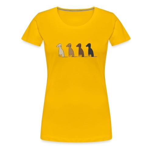 Logo Kusei - Frauen Premium T-Shirt