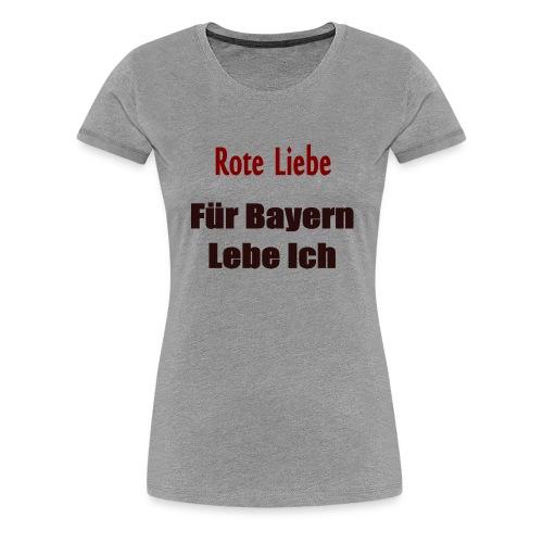rote liebe png - Frauen Premium T-Shirt